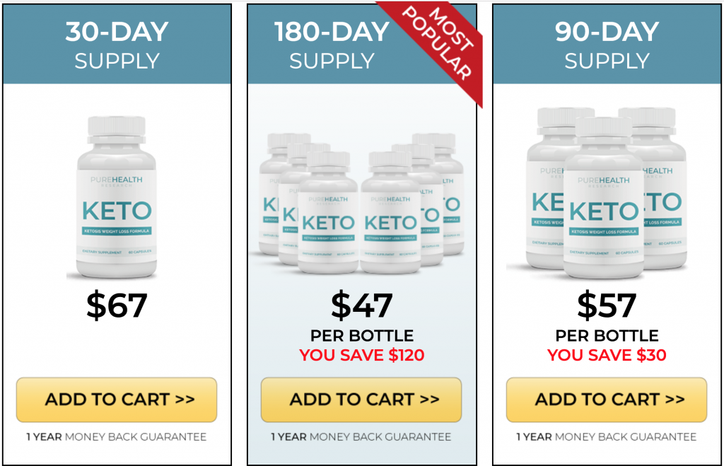 pure health keto
